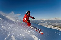 Ski, child, helmet, protection, skiing, sport, winter, winter sports, skiing area, Flachau, Salzburg, Austria,