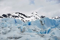 Front of the glacier Perito Moreno Argentina