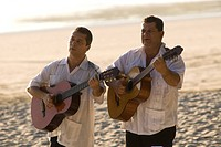 Musicians at Beach Espadilla Sur