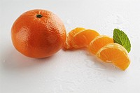 orange, vegetables, alimentary, white, mandarin