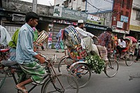 dhaka, person, rickshaw, cycle, bangladesh, people