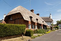 picturesque thatched cottage in Selborne