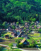 Shirakawa Village, Gifu Prefecture, Honshu, Japan