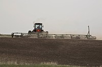 canada, working, saskatchewan, scenic, field, farmer