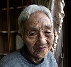 japan, people, elderly, home, person, woman
