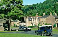 The rural village of West Burton near Leyburn in Wensleydale in the Yorkshire Dales National Park, North Yorkshire