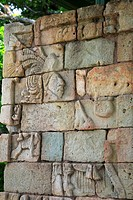copan, person, ruins, mayan, honduras, people