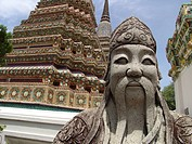 detal, person, architectural, statue, thailand, people