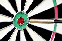 board, eye, bulls, hitting, dart