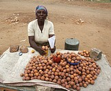 selling, people, zambia, person, fruit, woman