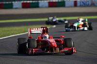 Race, Giancarlo Fisichella, Scuderia Ferrari, F60, Grand Prix, 04/10/2009, Suzaka, Japan