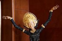 Indonesia, Java, Solo, javanese statue, handicraft,