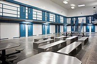 Florida - Feb 2009 - Interior view of a correctional institution in central Florida