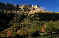 Castillo Mayor peak, Escuain gorge, National Park of Ordesa and Monte Perdido, Huesca, Spain