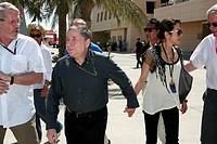 Jean Todt, President of FIA, Michelle Yeoh, Formula One, Grand Prix, Bahren, Persian Gulf