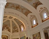 canada, gravelbourg, saskatchewan, scenic, cathedral, interior