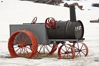 canada, tractor, saskatchewan, scenic, replica, small