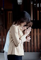 praying, people, japan, women, person, love