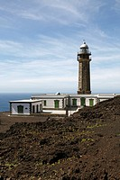 A lighthouse, Faro de Orchillo, El Hierro, Spain