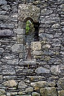 Window of Kilcatherine Church, Cork, Ireland