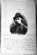 Russian, History, Portrait, Nikolay Klyuev, Nikolai Klyuev, Arts and Culture