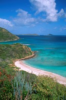 Caribbean, BVI, Virgin Gorda, Savannah Beach, beach