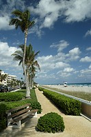 USA, Florida, Palm Beach, beach, promenade