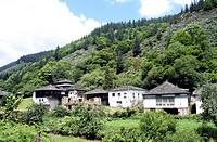 Pomar de las Montañas village, Fuentes del Narcea Natural Park, Asturias, Spain