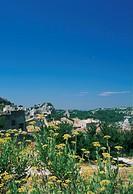 France, Provence, Les Baux de Provence, view on Les Baux de Provence