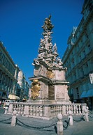 Austria, Vienna, The Graben and Plague Column, World Heritage Site