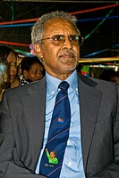Zemede Tekle, Eritrean Ambassador in Italy, Festival of the Eritrean people in Italy, Cinisello Balsamo, Milan province, 10 07 2010