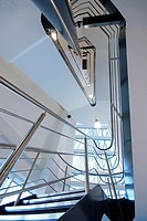stair case at Ray Marine office building at Cosham, Portsmouth