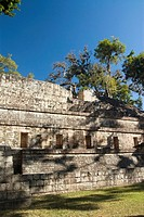 West Court, Temple 11, Copan archaeological park, Copan Ruinas, Honduras