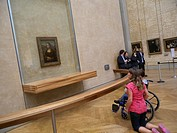 Louvre Museum, Mona Lisa, Paris, France