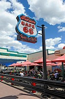 Cruisers Route 66 Cafe Williams Arizona Gateway to the Grand Canyon