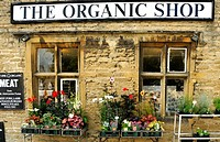 The Organic Shop at Stow-on-the-Wold, Gloucestershire, Cotswolds, UK