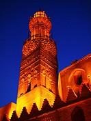 Minaret, Al Nasir Mohamed Madrasa Mausoleum, Cairo, Egypt