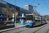 Tram at Munich Main Station
