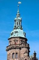 Denmark, Zealand, Helsingor, Kronborg Castle,