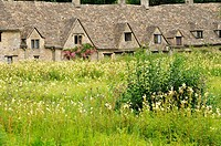 Arlington Row, Bibury, Gloucestershire Cotswolds, UK