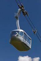 Portland, Oregon, United States Of America, Portland Aerial Ohsu Tram