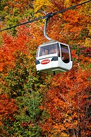 Cable Car in Mont Tremblant, Canada