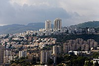 Aerial photograph of the city of Haifa