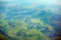 View of winding river (thumbnail)