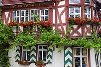 The Old House in Bacharach (thumbnail)