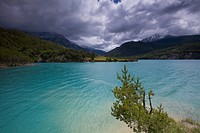 Clouds over Lac de Serre_Poncon