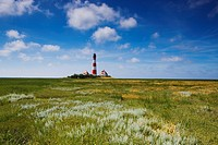 Lighthouse in Westerhever
