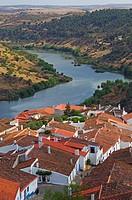 Guadiana River, Mertola, Baixo Alentejo, Portugal, Europe.
