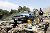 car wash in kabul