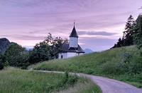 St. Anthony_Chapel, Kaisertal, Ebbs, Tyrol, Austria